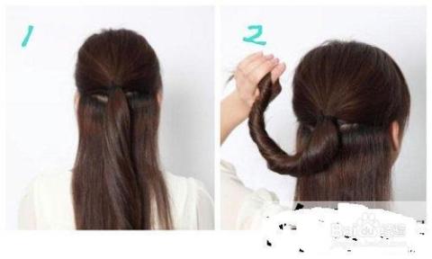 直发马尾怎么扎好看直发马尾发型扎法时尚气质图片