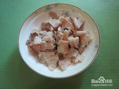 四季豆回锅肉图片