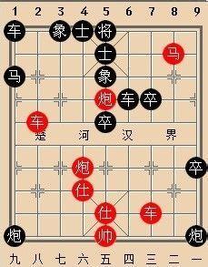 中国象棋杀法——钓鱼马图片