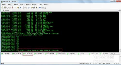 如何在securecrt上设置常用的快捷输出按钮栏