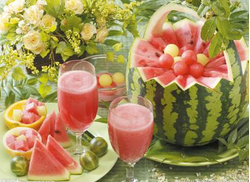 水果攻略之西瓜的花样切法图片
