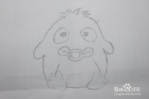 简笔画企鹅的画法