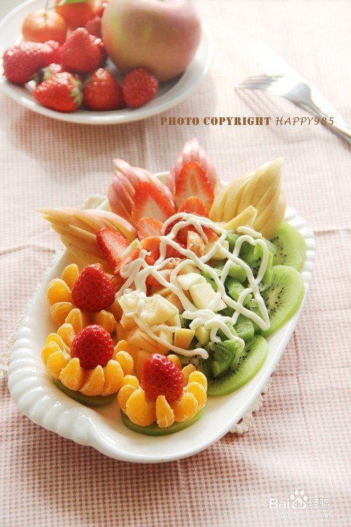 水果沙拉拼盘——有情调的吃货必备图片
