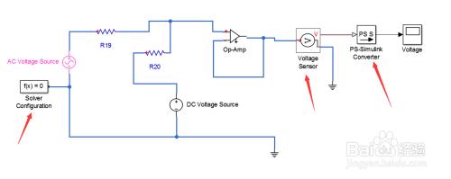 用matlab画电路�_matlab应用运放搭建仿真电路