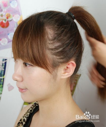 编头发的教程