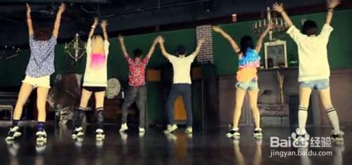 蹈动作分解 舞蹈动作和造型 街舞教学入门视频全程分解图片