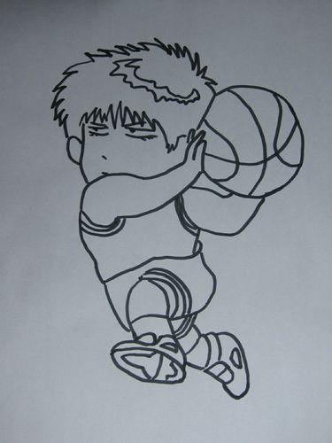 儿童画 简笔画 手绘 线稿 375_500 竖版 竖屏图片