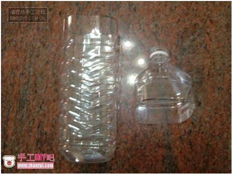 怎样利用矿泉水瓶制作灯笼图片