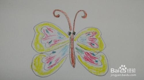 简笔画 蝴蝶的画法
