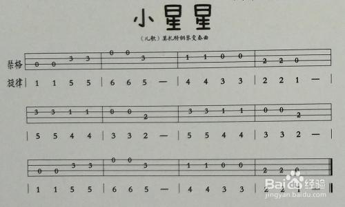 尤克里里新手入门_新手入门ukulele尤克里里小星星指弹教程