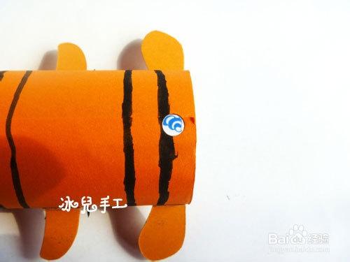 卫生纸筒手工制作老虎