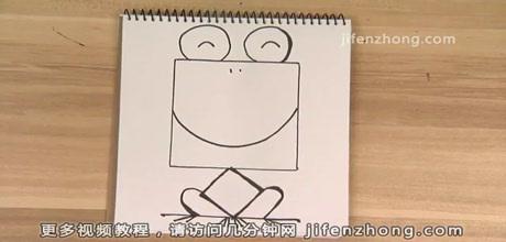 正方形简笔画|野猪|青蛙|老鼠|   正方形简笔画之如何画出租车