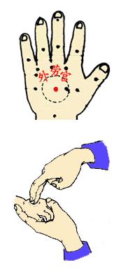 小儿推拿儿童发烧的穴位按摩