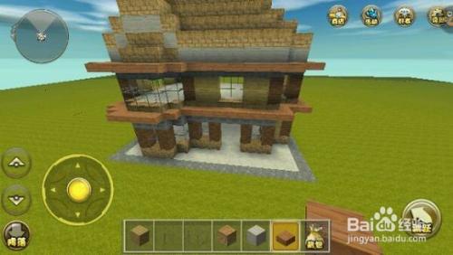 迷你世界别墅建筑教程图片