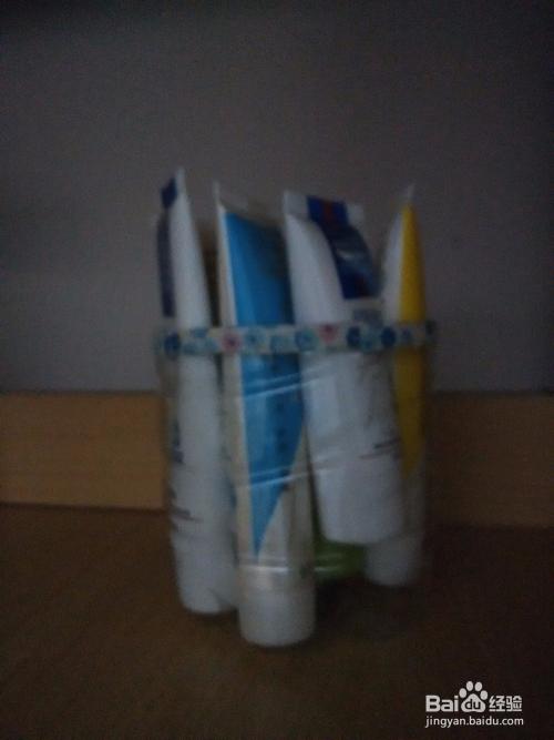 矿泉水瓶子的利用之整理手霜之类得东西图片