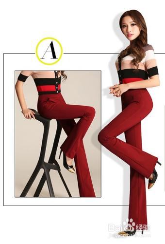 枣红色裤子怎么搭配
