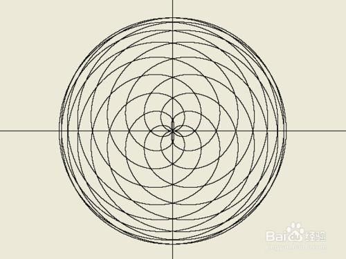如何编程绘制创意圆形曲线图片