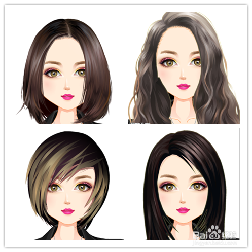 什么样的脸型配什么样的发型最适合?图片
