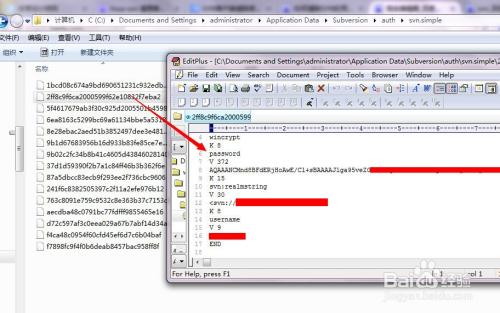 清除svn客户端用户名密码