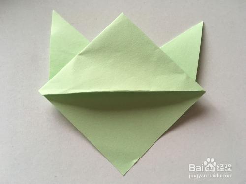 手工折纸折书签教程
