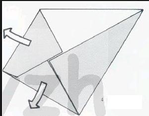 准备长方形纸一张图片