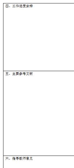 怎样写毕业设计的开题报告