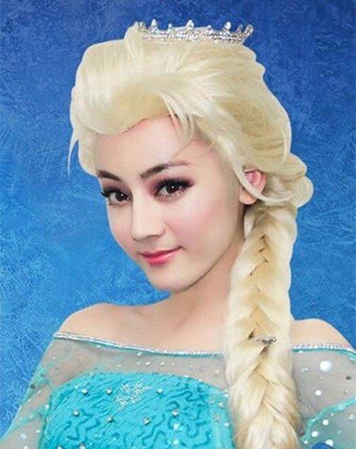 娱乐圈当红女明星们的动漫造型赵丽颖最可爱迪丽热巴最美!