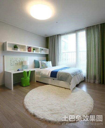 卧室兼书房装修效果图大全2013图片欣赏 高清图片