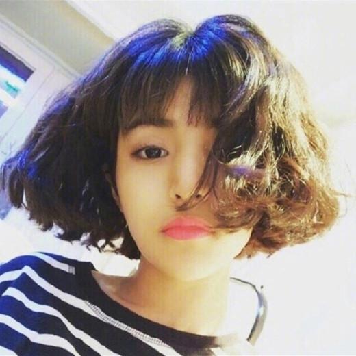 短发烫什么样的好看,短头发烫头发发型图片女 - 七丽女性网图片