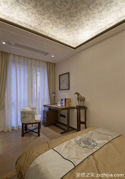 中式书房装修案例欣赏_装修之家装修效果图图片