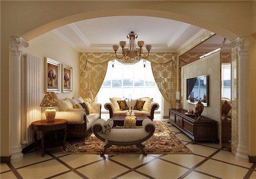 居室装修欧式风格效果图 来感受下你意想不到的视觉体验图片