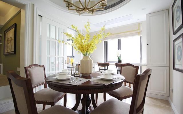 美式三居室装修效果图,平衡之美图片