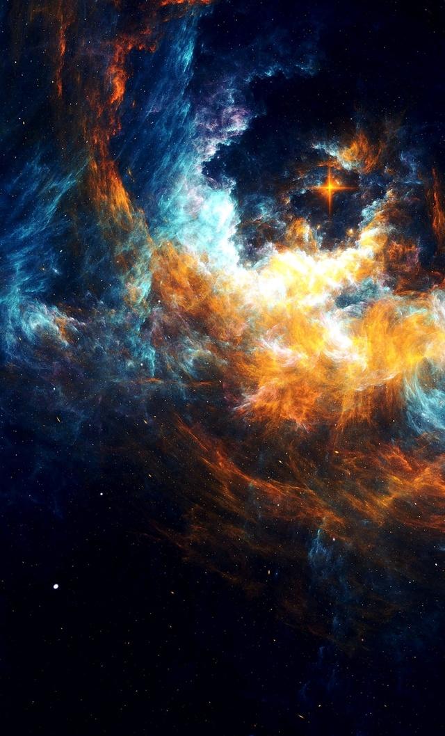 暗夜星空系列 1080p高清手机壁纸 带你遨游太空