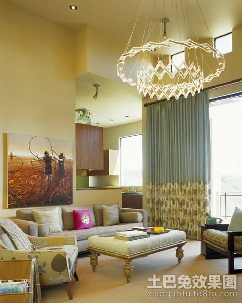 现代简约客厅装修效果图 2013装修效果图 高清图片