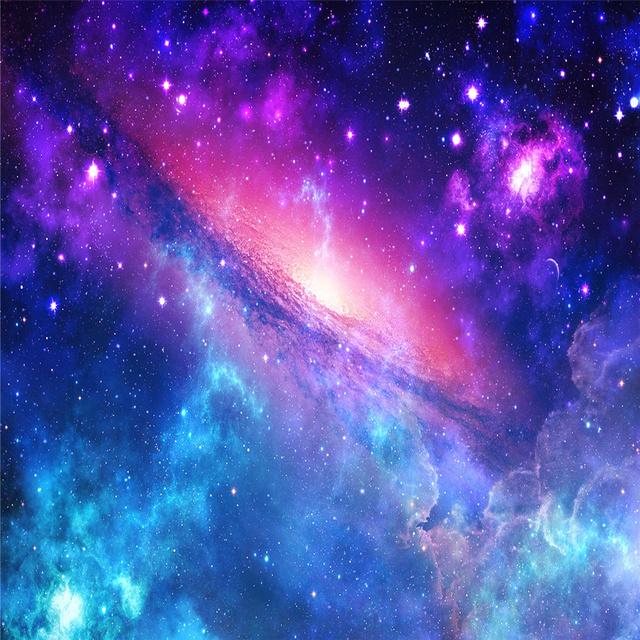 灿烂原宿星空高清图片