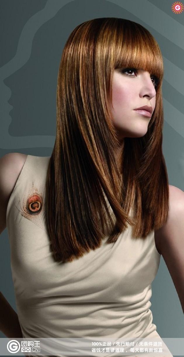 烫染发型海报图片_烫染发型海报图片分享图片