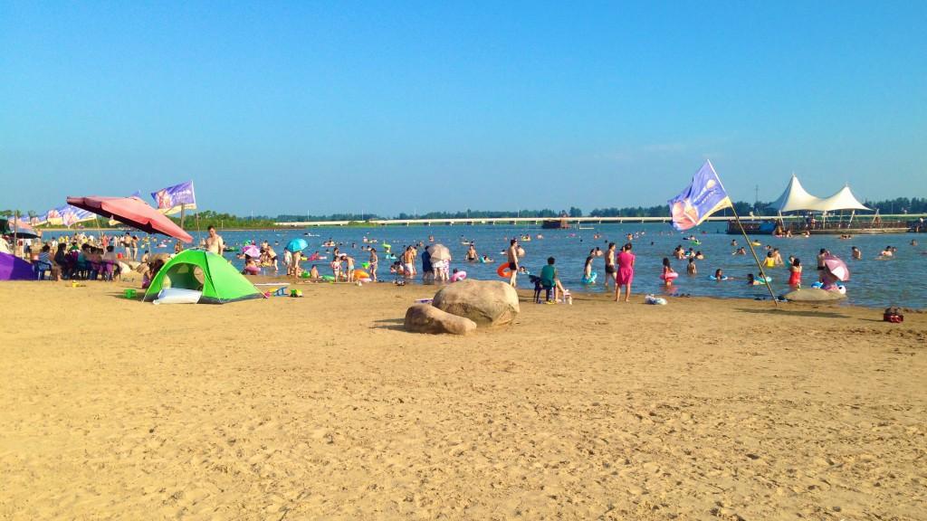 阜宁金沙湖风景区