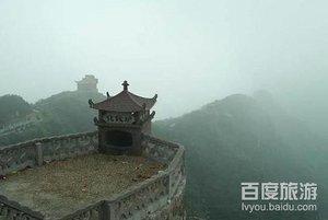 慈溪市五磊山风景区 西北门高清图片
