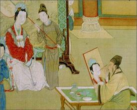 西汉元帝时期后宫排列