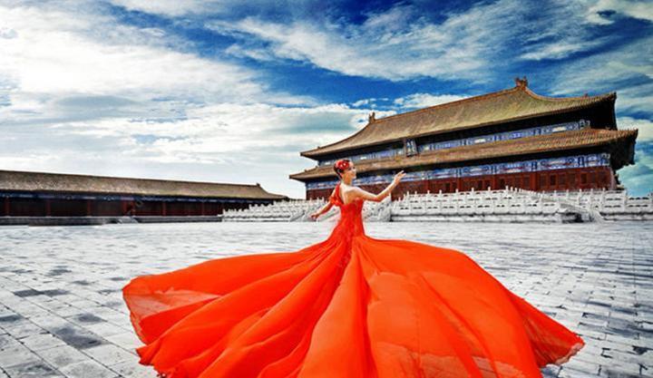 巴黎蜜月国际婚纱摄影工作
