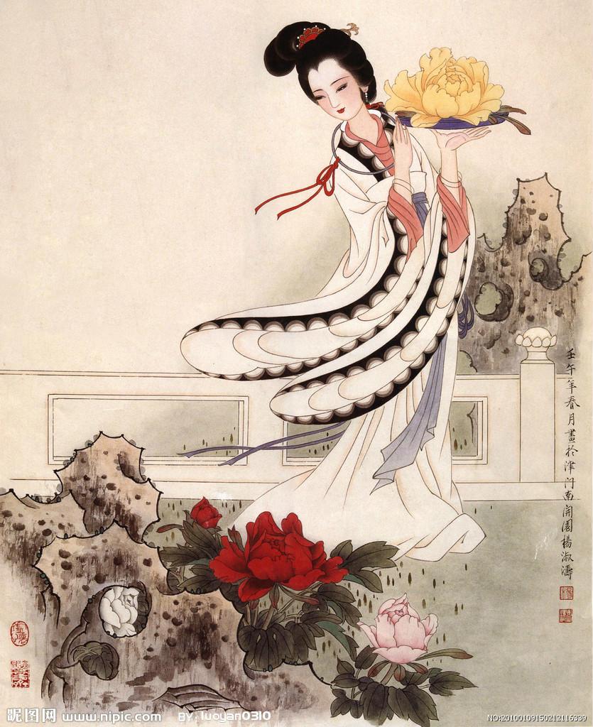 古代中国美女的三围标准