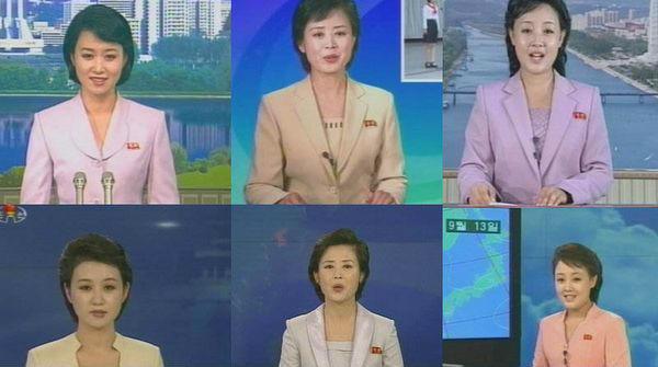 朝鲜的女主播