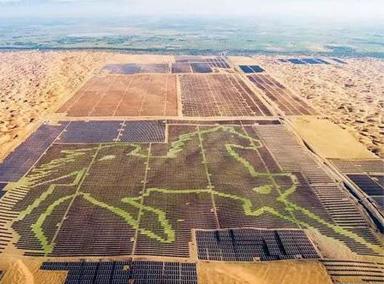 世界最大!19万块光伏板拼成巨型骏马
