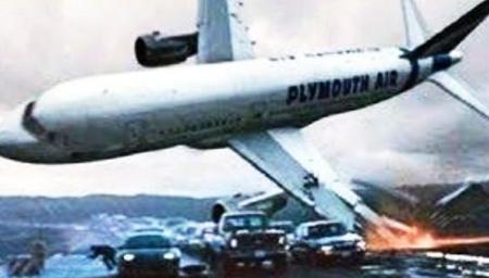 超级可怕的飞机坠毁瞬间!胆小勿入