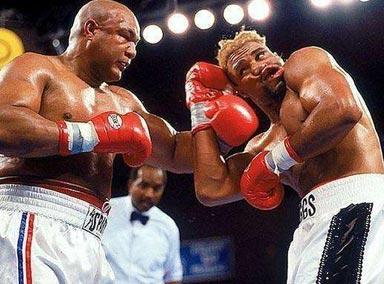 福尔曼一双铁拳打遍重量级拳坛,这位不败新星被他无情终结