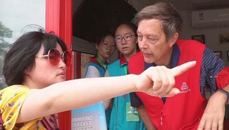 辉煌七十载 老外在中国
