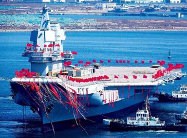 国产航母上的这根绳子价值150万
