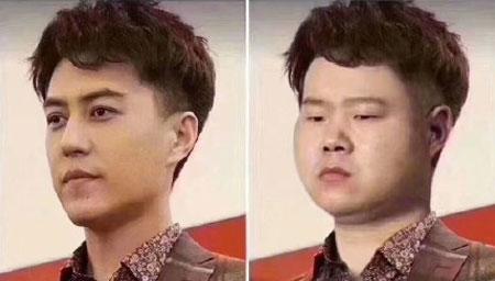 """岳云鹏被P图与靳东""""撞衫"""""""