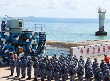 南沙岛礁装备部署不针对任何国家