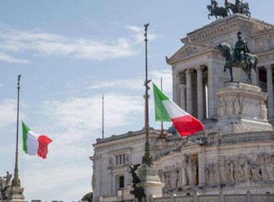 意大利降半旗并默哀一分钟